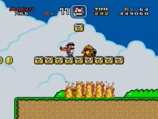 Test Super Mario World Super Nintendo - Screenshot 28