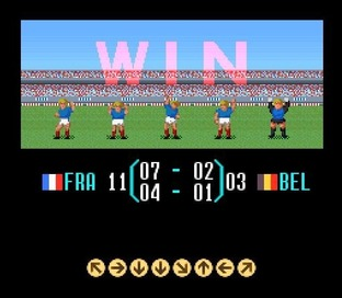 Test Super Soccer Super Nintendo - Screenshot 11