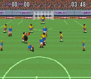 Test Super Soccer Super Nintendo - Screenshot 12