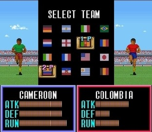 Test Super Soccer Super Nintendo - Screenshot 13