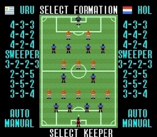 Test Super Soccer Super Nintendo - Screenshot 17