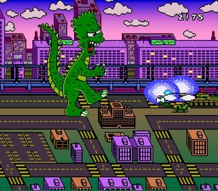 Test The Simpsons : Bart's Nightmare Super Nintendo - Screenshot 10