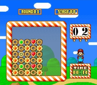 Test Yoshi's Cookie Super Nintendo - Screenshot 13