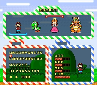 Test Yoshi's Cookie Super Nintendo - Screenshot 14