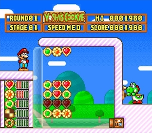 Test Yoshi's Cookie Super Nintendo - Screenshot 24