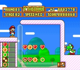 Test Yoshi's Cookie Super Nintendo - Screenshot 27