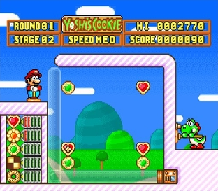 Test Yoshi's Cookie Super Nintendo - Screenshot 29