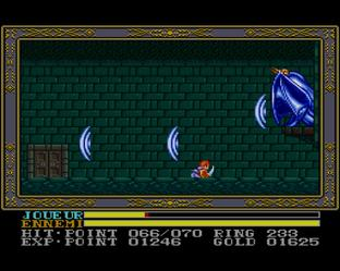 Test Ys III : Wanderers from Ys Super Nintendo - Screenshot 12