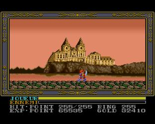 Test Ys III : Wanderers from Ys Super Nintendo - Screenshot 13