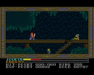 Test Ys III : Wanderers from Ys Super Nintendo - Screenshot 18
