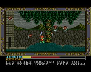 Test Ys III : Wanderers from Ys Super Nintendo - Screenshot 22
