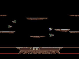 Test Joust Atari ST - Screenshot 1