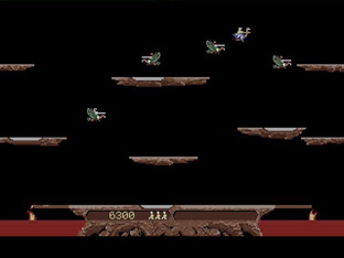 Test Joust Atari ST - Screenshot 2