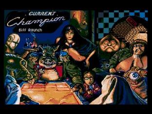 Test Shufflepuck Café Atari ST - Screenshot 1