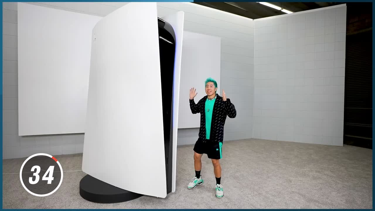 PlayStation 5: A Giant Model at 70,000 dollars