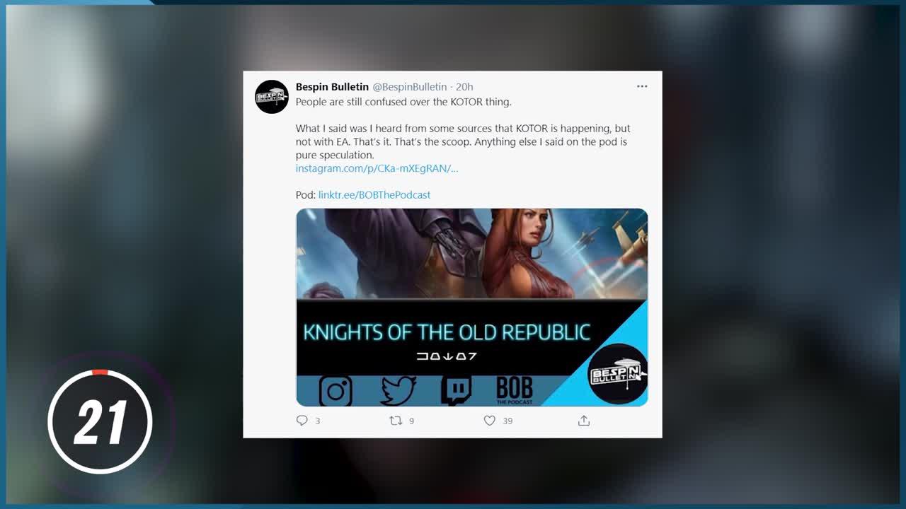 Star Wars : un nouveau KOTOR en développement ?