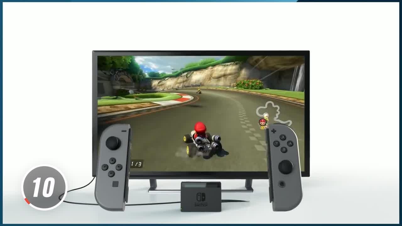Nintendo Switch Pro : Vers un nouveau dock ?