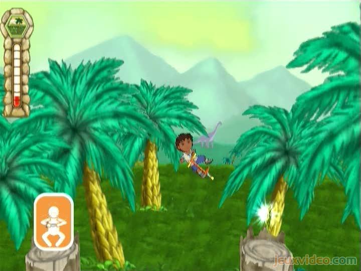 Gameplay go diego au secours du dinosaure chasse aux pi ces - Jeux de go diego ...