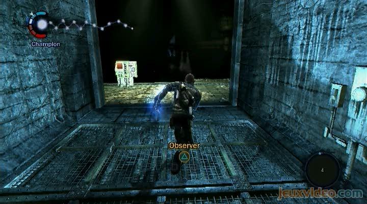gameplay infamous mission dans les 233gouts jeuxvideocom