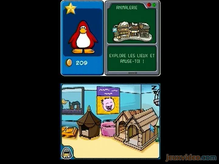 Gameplay Club Penguin ...