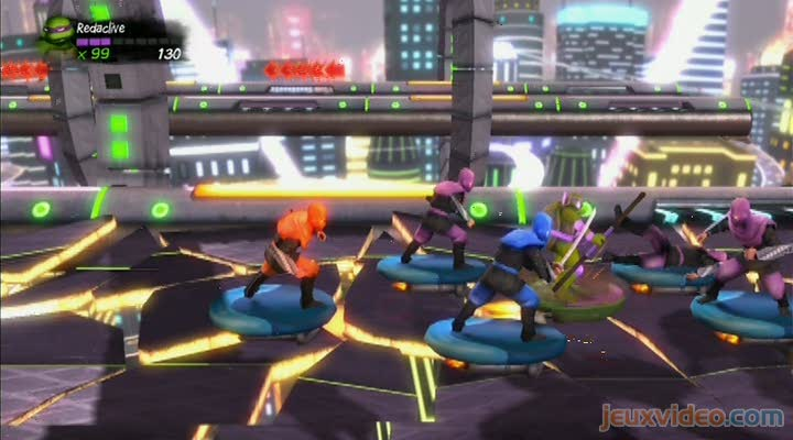 how to play 2 players on tmnt xbox 360