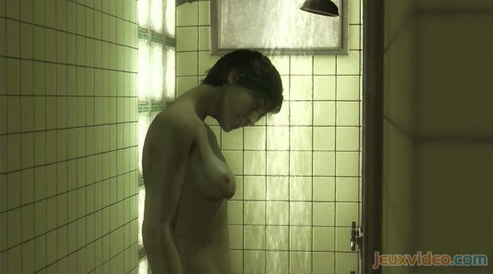 girl nude douche shower hot