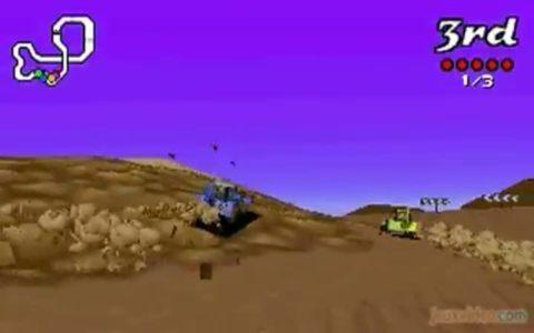Gameplay big red racing de la course et du fun for Big red racing