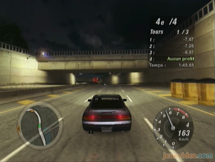 gameplay need for speed underground 2 oups cass e la voiture. Black Bedroom Furniture Sets. Home Design Ideas