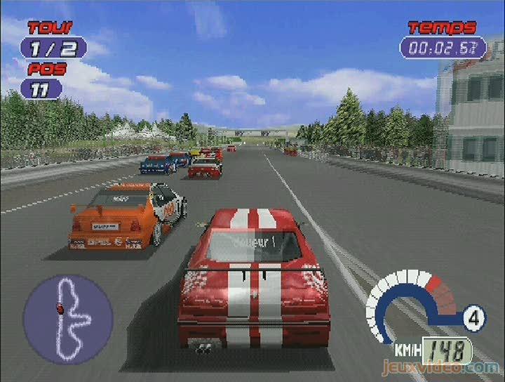 Gameplay TOCA World Touring Cars : Tour De Circuit