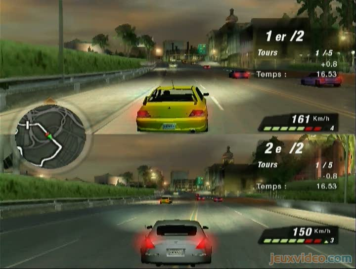 gameplay need for speed underground 2 course multijoueurs. Black Bedroom Furniture Sets. Home Design Ideas