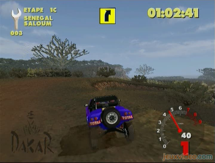 gameplay paris dakar rally gros retard. Black Bedroom Furniture Sets. Home Design Ideas