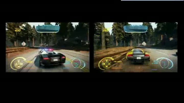 gameplay need for speed hot pursuit course poursuite 2 joueurs. Black Bedroom Furniture Sets. Home Design Ideas