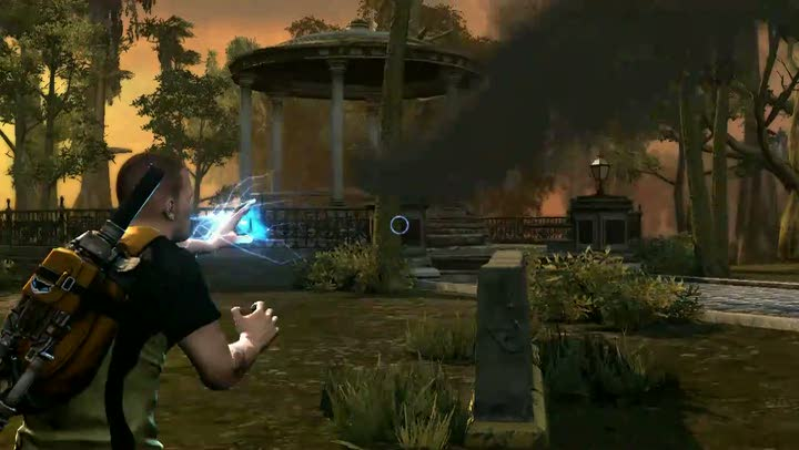 gameplay infamous 2 gameplay 233lectrique jeuxvideocom