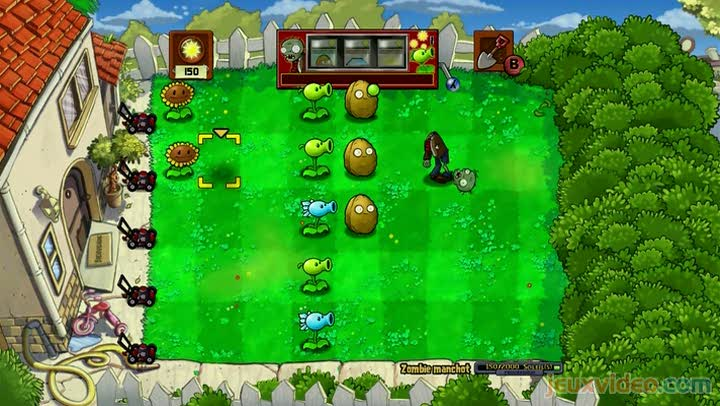 Gameplay plantes contre zombies zombie manchot for Plante zombie