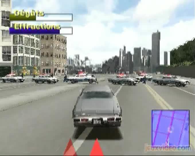gameplay driver 2 back on the streets il va y avoir un bain de sang dans les rues de chicago. Black Bedroom Furniture Sets. Home Design Ideas