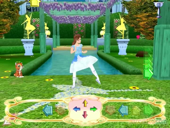 Gameplay barbie au bal des 12 princesses dansez maintenant - Jeux de barbie popstar ...