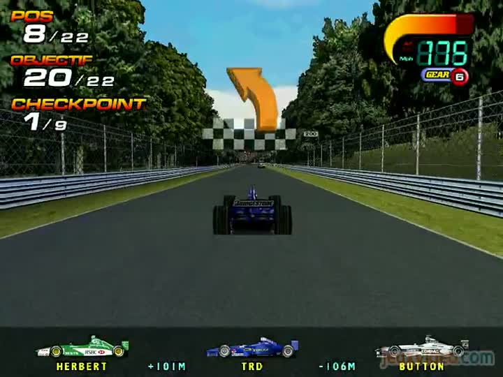 gameplay f1 world grand prix course intense. Black Bedroom Furniture Sets. Home Design Ideas