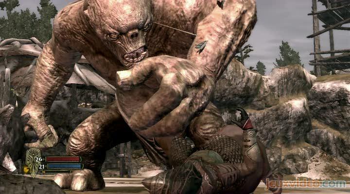 Gameplay le seigneur des anneaux la guerre du nord un troll d cha n - Tatouage seigneur des anneaux ...