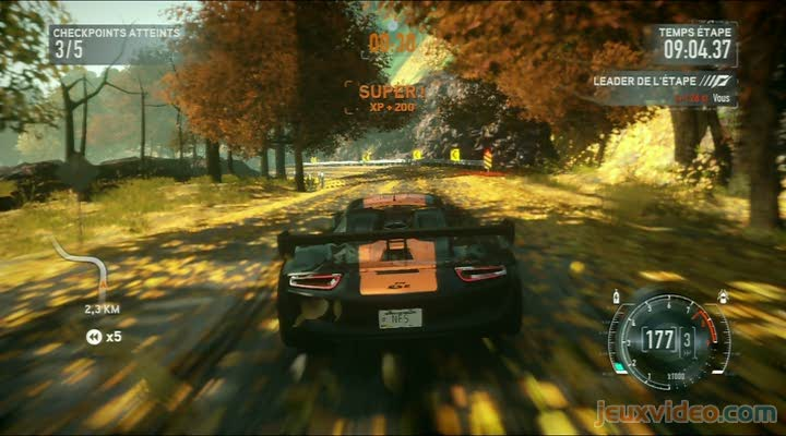 gameplay need for speed the run poursuite avec la police. Black Bedroom Furniture Sets. Home Design Ideas