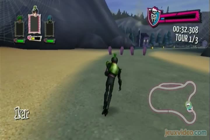 Gameplay monster high course de rollers incroyablement - Jeux monster high roller ...