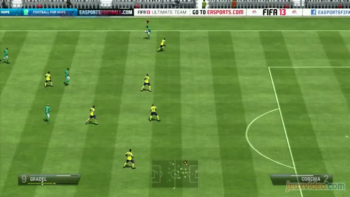 gameplay fifa 13 saint etienne sochaux premi re mi temps. Black Bedroom Furniture Sets. Home Design Ideas