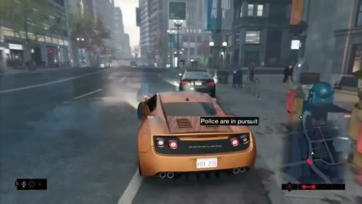 Gameplay Watch Dogs : Un Pt'it Hack Et ça Repart