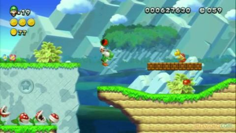 New Super Luigi U : Butte Yoshi