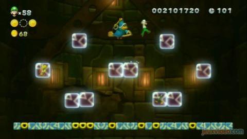 New Super Luigi U : Face à face avec Kamek