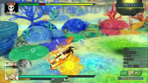 One Piece Unlimited World Red : Colisée - Bataille Royale