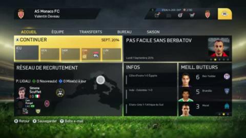 FIFA 15 : Aperçu du mode Carrière