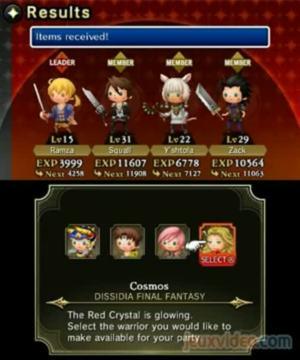 Theatrhythm Final Fantasy : Curtain Call : Quest Medley