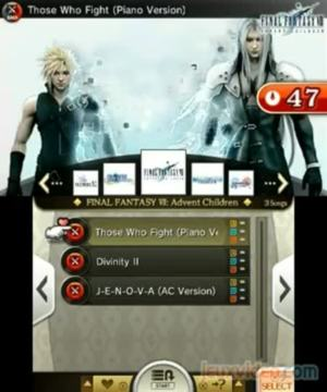 Theatrhythm Final Fantasy : Curtain Call : Mode Versus