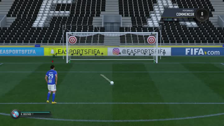 gameplay fifa 17 l 39 entra nement aux penaltys. Black Bedroom Furniture Sets. Home Design Ideas