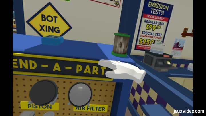 gameplay job simulator vis ma vie de garagiste. Black Bedroom Furniture Sets. Home Design Ideas